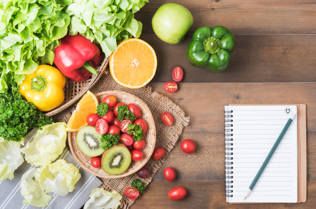 Create a diet for your client Image