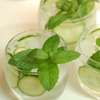 Mint Cucumber Lemonade
