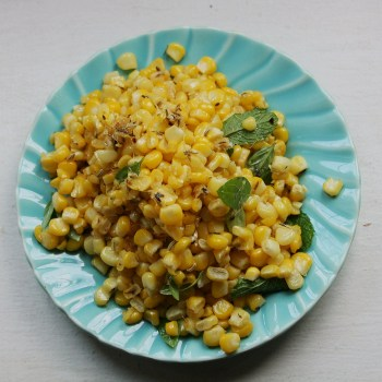 Corn Spiced with Cumin & Coriander