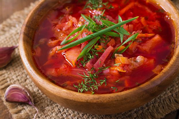 Beet Cleanse Soup (Borscht) - Ayurvedic Diet & Recipes