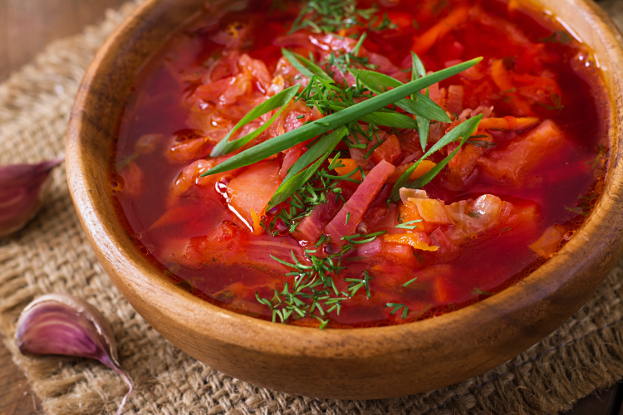 Beet Cleanse Soup (Borscht) Ayurveda Recipe