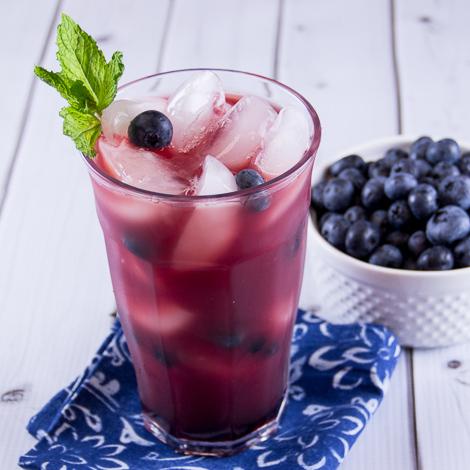 Minty Berry Juice Ayurveda Recipe