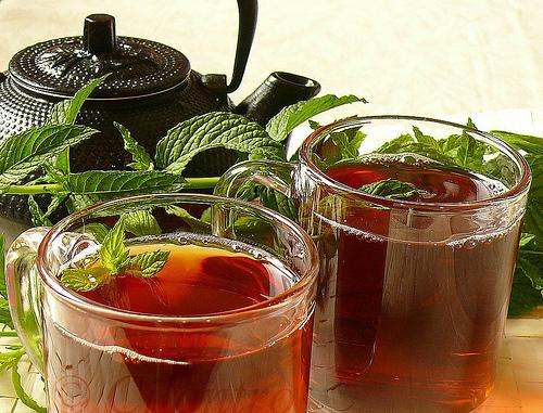 Moroccan Mint Tea Ayurveda Recipe