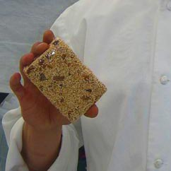 Popped Amaranth Energy Bar with Honey, Dried Fr...