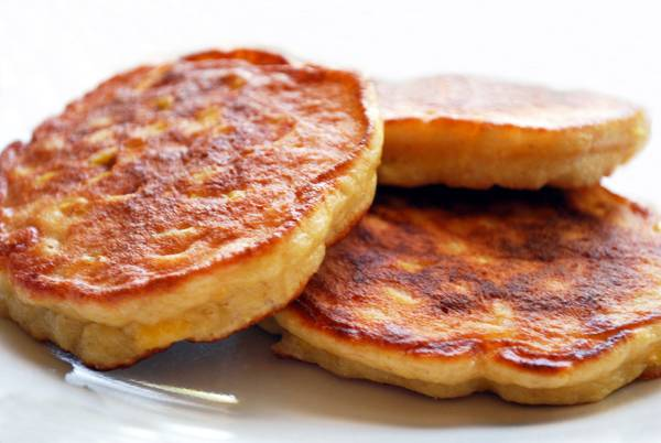 Savory Corn Pancakes - Ayurvedic Diet & Recipes