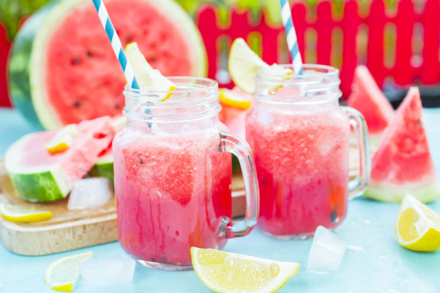 Watermelon & Basil Smoothie