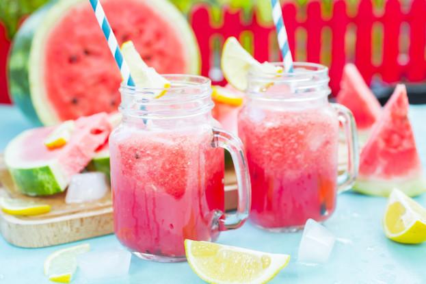 Watermelon & Basil Smoothie Ayurveda Recipe