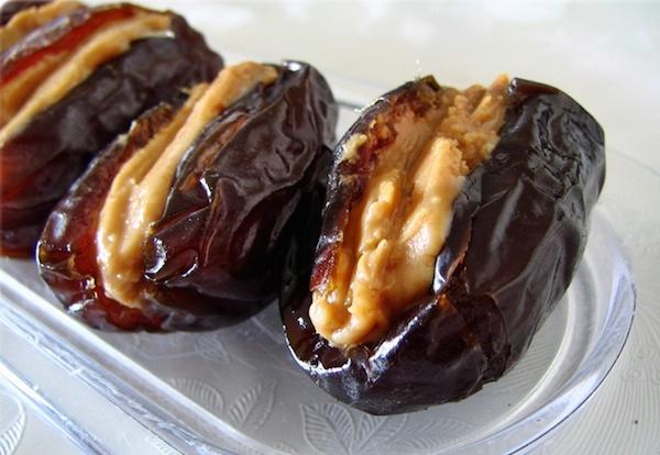 Nature's Fudge (Almond Butter Stuffed Dates)