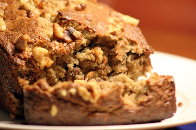Gluten Free Saffron & Walnut Bread