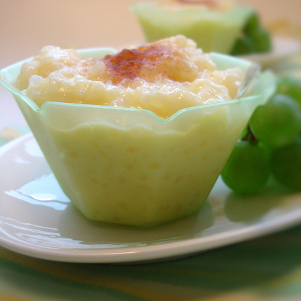 Lemon & Saffron Tapioca Pudding