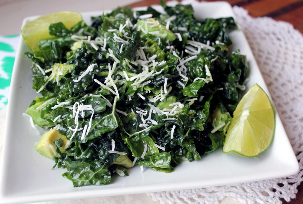 Kale with Coconut & Fennel
