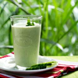 Sweet Cucumber Milk Ayurveda Recipe