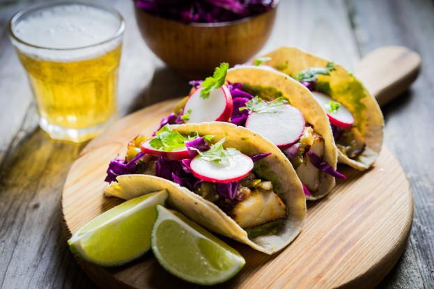 Sweet Potato, Purple Cabbage & Radish Taco Ayurveda Recipe