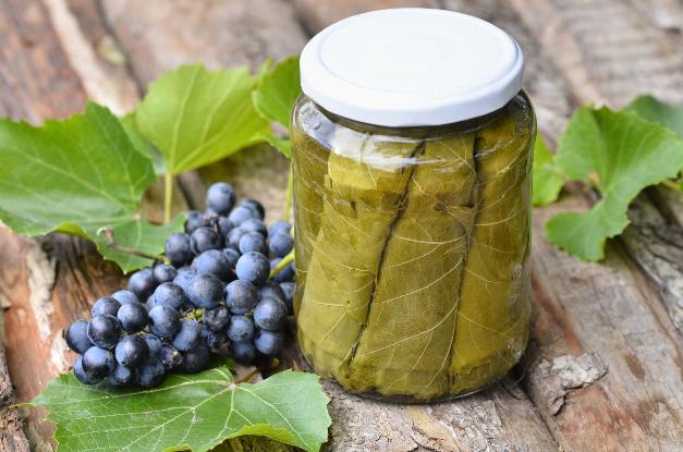 Grape Leaves (fermented) - Ayurvedic Diet & Recipes