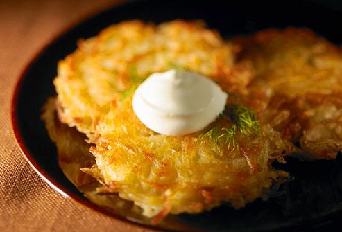 Potato Latkes - Ayurvedic Diet & Recipes