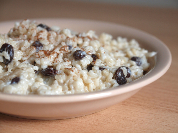 Rice pudding with Raisins & Cinnamon Ayurveda Recipe