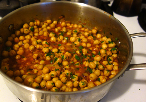 Chick Pea with Italian Herbs & Red Wine Ayurveda Recipe