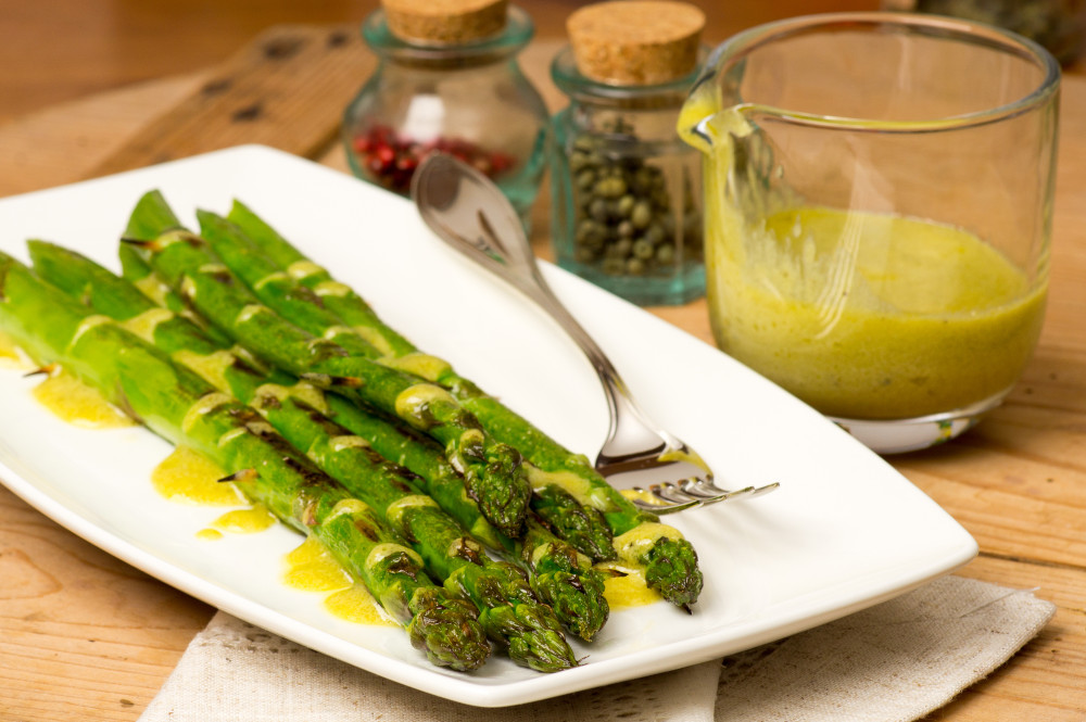 Asparagus with Mustard & Tarragon