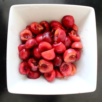 Bowl of Cherries with Lavender & Cayenne Ayurveda Recipe