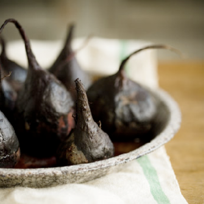 Roasted Beets in a Balsamic Glaze
