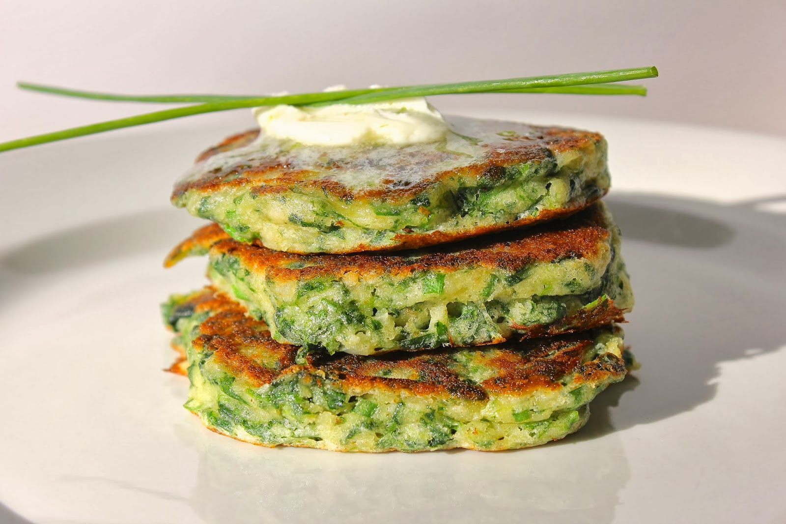 Coconut & Cilantro Savory Pancake - Ayurvedic Diet & Recipes