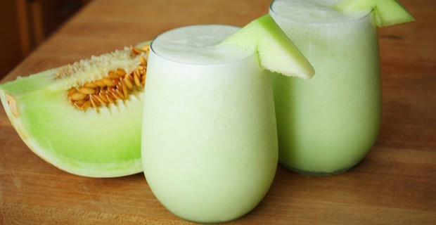 Honeydew Smoothie with Aloe Vera Jelly Ayurveda Recipe