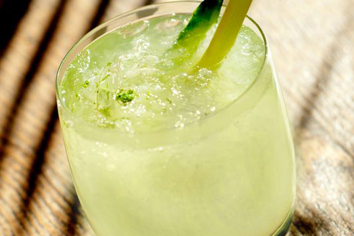 Ginger Basil Limeade Ayurveda Recipe