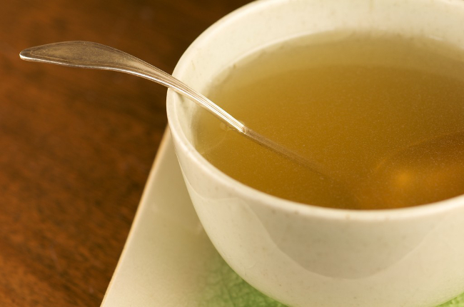 Morning Broth with Ghee, Lime, Salt & Spices Ayurveda Recipe