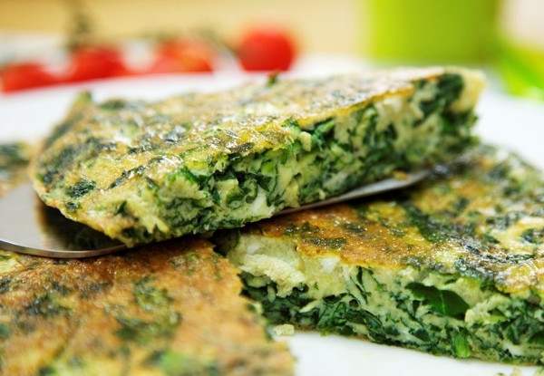 Greens & Fresh Herb Frittata