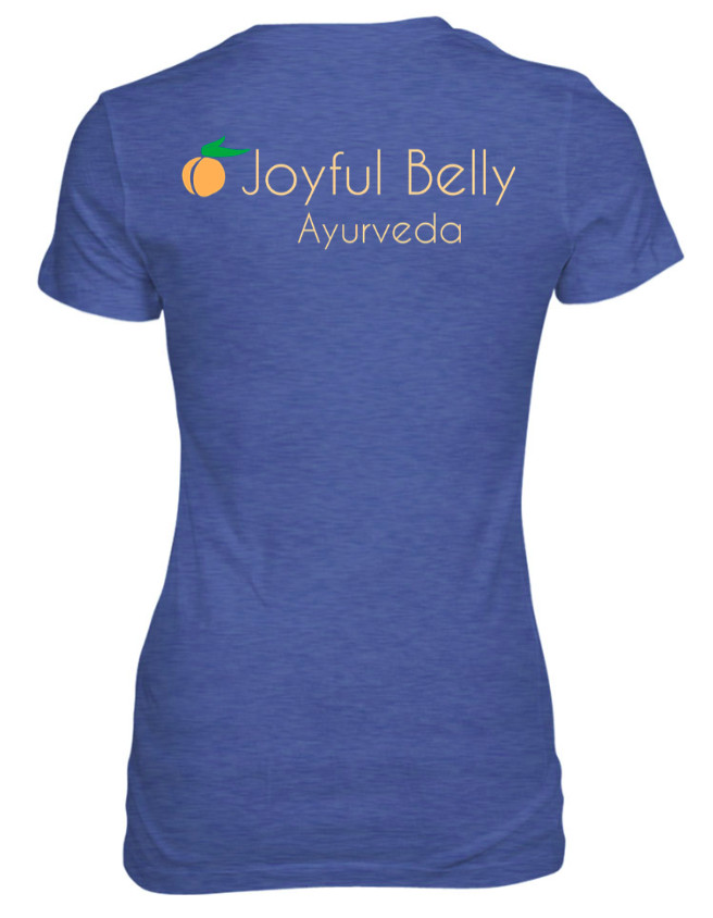 Ayurveda Lifestyle Joyful Belly T-Shirt - What