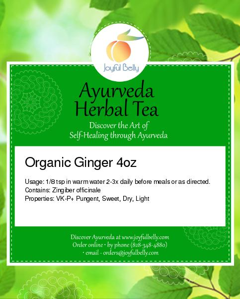 Ayurveda Ginger Root Powder