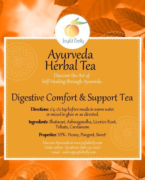 Ayurveda Digestive Comfort & Support Tea