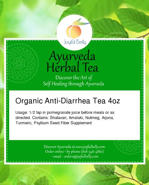 Ayurveda Anti-Diarrhea Tea