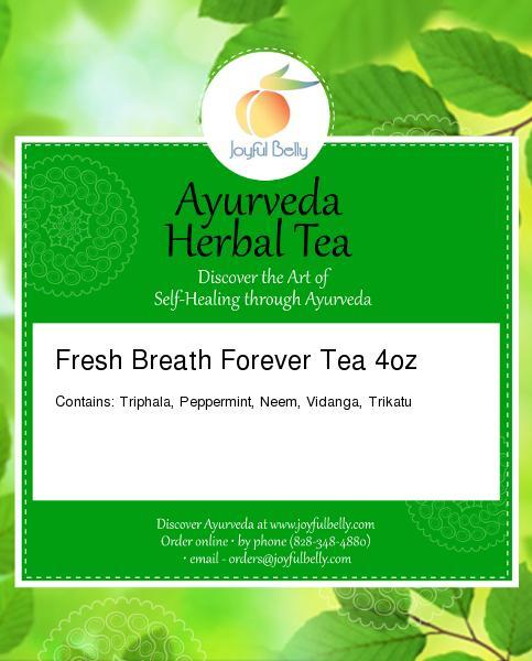 Ayurveda Fresh Breath Forever Tea