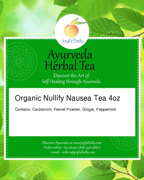 Ayurveda Nullify Nausea Tea