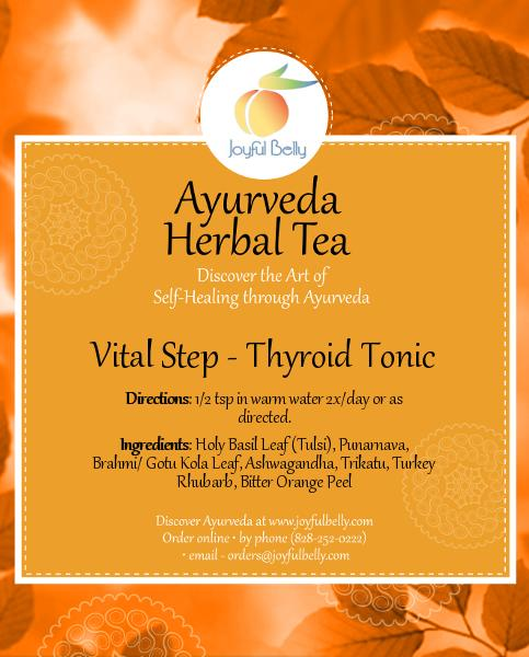 Ayurveda Vital Step - Thyroid Tonic