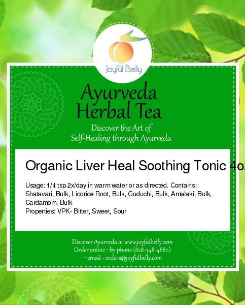 Liver Heal Soothing Tonic