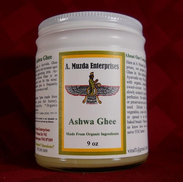 Ayurveda Ashwagandha Ghee (9oz)