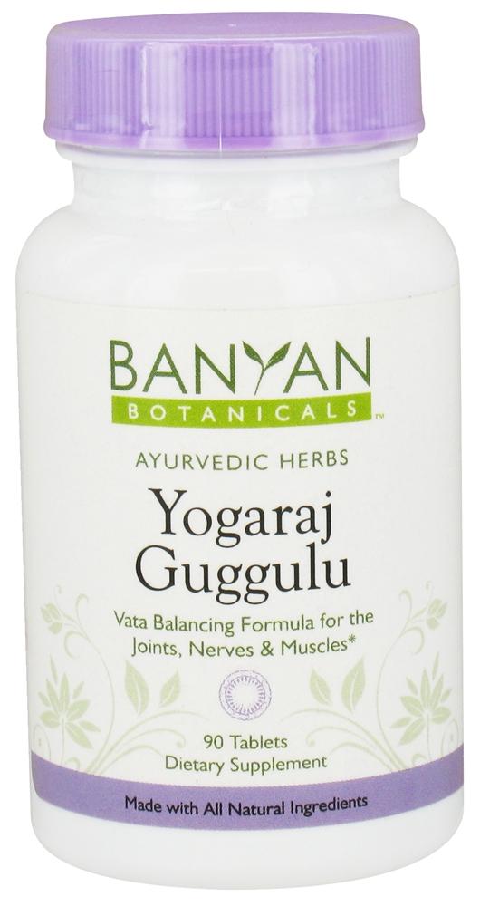 Yogaraj Guggulu Tablets - Ayurvedic Diet & Recipes