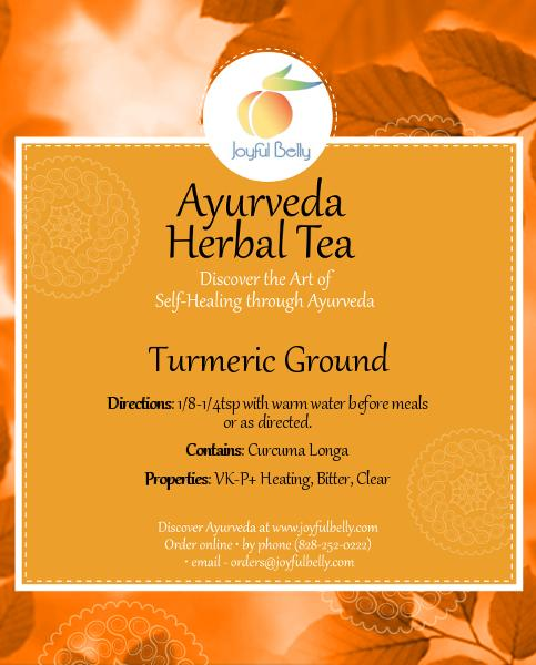 Ayurveda Turmeric, Ground