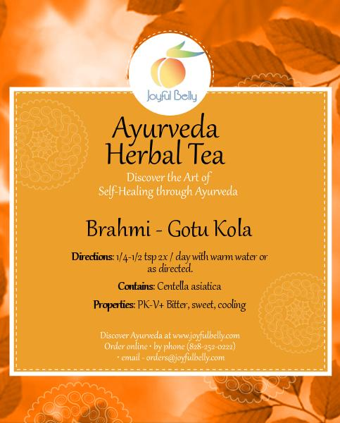 Ayurveda Brahmi - Gotu Kola