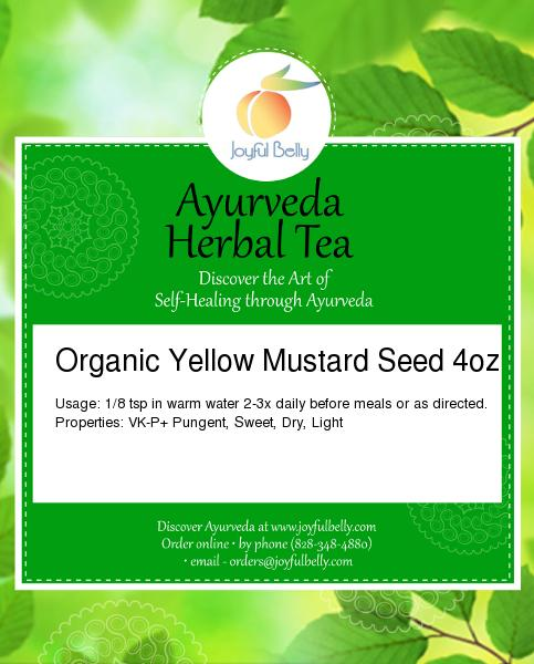 Ayurveda Yellow Mustard Seed