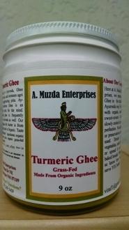 Turmeric Ghee (9oz)