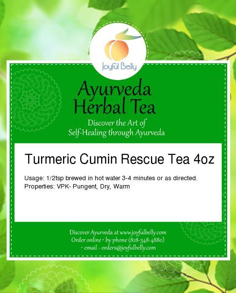 Ayurveda Turmeric Cumin Rescue Tea
