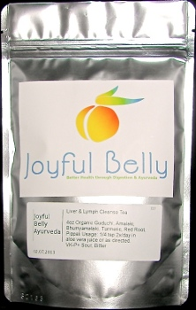 Ayurveda Mint Belly Bliss Tea: Energize & Awaken