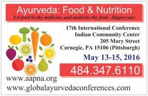 Explore Your Hunger at the Ayurveda Food & Nutrition Conference with Keynote Speaker John Immel Image